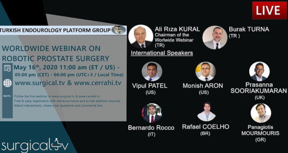 WORLDWIDE WEBINAR ON ROBOTIC PROSTATE SURGERY