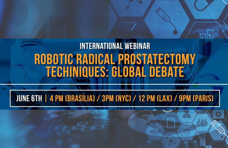 PROF. DR. BURAK TURNA ROBORIC RADICAL PROSTATECTOMY TECHNIQUES: GLOBAL DEBATE WEBINARINA KATILIYOR.