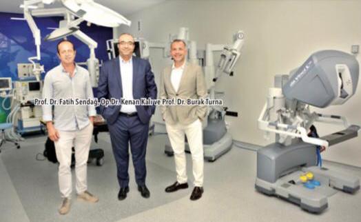 izmir özel sağlık hastanesi prof. dr. burak turna öncülüğünde robotik prostat cerrahisi ekibi kurdu!
